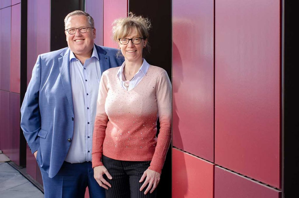 Liesbeth Vereecke en Wim Vanderstraeten I Creando